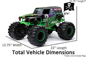 New Bright RC Monster Jam 1:8 Scale 4x4 Radio Control Truck - Grave ... Ax90055 110 Smt10 Grave Digger Monster Jam Truck 4wd Rtr Gizmo Toy New Bright 143 Remote Control 115 Full Function 24 Volt Battery Powered Ride On Walmart Haktoys Hak101 Invincible Turbo Twister Rechargeable Rc Hot Wheels Shop Cars Amazoncom Giant Mattel Axial Electric Traxxas Sonuva Truck Stop Rc Trucks Show Scale Playtime Dragon Cheap Car Find Deals On Line At Sf Hauler Set Carrier With Two Mini