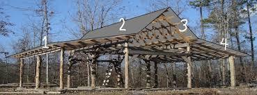 building an old fashioned pole barn part 5 farm hand u0027s