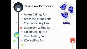 Bladeless Ceiling Fans Singapore by Ceiling Fan Singapore At Bacera Youtube