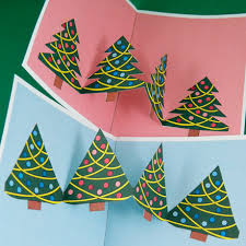 Christmas Cards With Tree Pop Up Ups