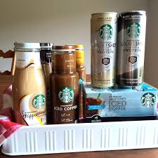 StarbucksR Iced Coffee And Bottled Frappuccino Drinks