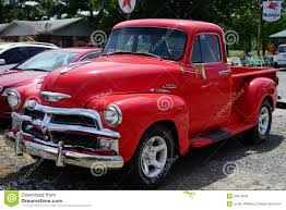 100 1950 Chevrolet Truck Cherry Red Stock Photo 54610656 Megapixl