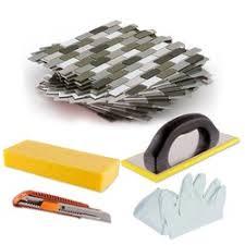 Adhesive Backsplash Tile Kit by Diy Peel U0026 Stick Backsplash Tile Kit Mineral Tiles