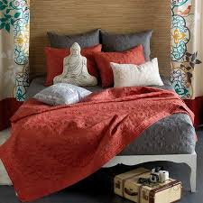 Coral Colored Bedding by Gray And Coral Bedding 15
