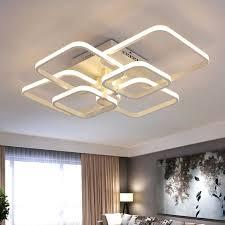 moderne decke lichter lüster led wohnzimmer leuchten