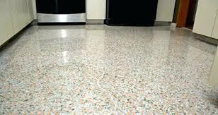 Terrazzo Tile Cost Poured Floor Flooring Model Best Idea For Your Regarding