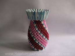 How To Make An Origami Vase For Paper Flowers