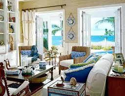 Beachy Living Rooms Fine Decoration Homey Design Coastal Beach House Room Curtains