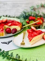 erdbeer pudding kuchen rezept