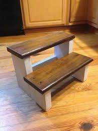one board challenge rustic x back step stool stools board and
