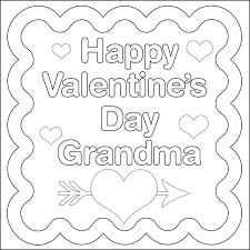 Click To Download Or Print Valentines Coloring Page