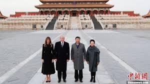 Xi Trump Visit Forbidden City And Watch Peking Opera