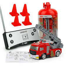 Mini RC Fire Engine Fire Truck Toy 40MHz Remote Control Ladder Fire ... Rc Toy Fire Truck Lights Cannon Brigade Engine Vehicle Kids Romote Control Dickie Toys Intertional 24 Rescue Walmartcom Rc Model Fire Truck Action Stunning Rescue Trucks In Green Patrol Sos Brands Products Wwwdickietoysde Buy Generic Creative Abs 158 Mini With Remote For Cartrucky56 Car Kidirace Rechargeable 13 Best Giant Monster Toys Cars For Kids Youtube Watertank Red Vibali Shop