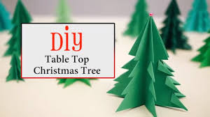 DIY Table Top Christmas Tree Ideas For Inspiration
