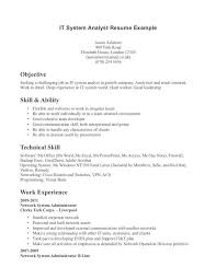 Resume Examples Technical Skills ResumeExamples