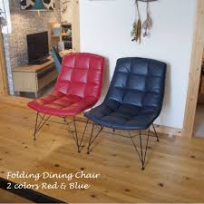 ◆The Pretty Fashion That Two Colors (blue / Red) Of ◆ Chair Chair Chair  Chair Chair Dining Chair Dining Chair Shin Pull Composition Leather Pop ... Hester Blue Stackable Ding Chair 4 X Vinyl And Beech Mid Century Ding Chairs Vintro Hancock Alinum Retro Inoutdoor Rustic Chair Set Of 2 By Carabelle Velvet Swivel Modern Room Living Vintage Formica Table Fabfindsblog Hawley Quilted Dark Barker Stonehouse Upholstered Kitchen Wooden Legs Brookville Safavieh Giani Chairslate Gold Dch6201bset2 Fniture Cool Dinettes 1950s Style Cadian Made Chrome Sets