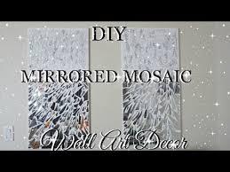 DIY MIRROR MOSAIC WALL ART PIER ONE INSPIRED