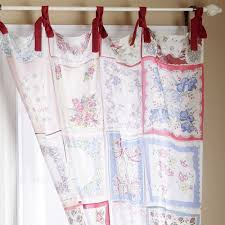 oh the things to do with vintage hankies vintage curtains
