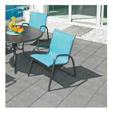 Stacking Sling Patio Chairs by Telescope Casual Gardenella Sling Stacking Arm Chair 7670