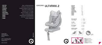siege concord mode d emploi concord ultimax 2 isofix siège auto trouver une