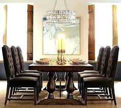 Pottery Barn Dining On Sale Tables Extending Table Buffet Rustic Brown Throughout