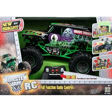 100 New Bright Rc Truck Monster Jam 110 Scale Remote Control Vehicle Max Din