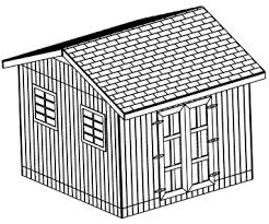 12x12 Shed Plans Pdf by 12x12 Gable Shed Plans Outdoor Storage Plans Step By Step Download