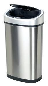 Bathroom Wastebasket With Lid by Silver Trash Can Silver Bullet Trash Can Silver Trash Can Ikea