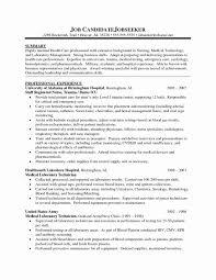 Sample Of Resume Summary Awesome Registered Nurse