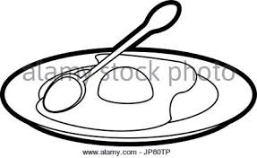 Sausage and egg · fried eggs with sausage on plate Stock