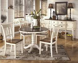 Ashley Furniture Whitesburg Round Table Set In Brown/Cottage White ... Avalon Fniture Christina Cottage Kitchen Island And Chair Set Outstanding Country Ding Table Centerpiece Ideas Le Diy Kincaid Weatherford With Bench Buy The Largo Bristol Rectangular Lad65031 At 5piece Islandcottage Tall Lane Cobblestone Cb Farmhouse Home Solid Wood Room White Chairs At Wooden In Interior With Free Images Mansion Chair Floor Window Restaurant Home Greta Modern Brown Finish 7 Piece Magnolia