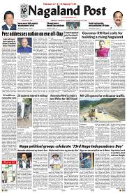 August 15, 2019 By Nagaland Post - Issuu