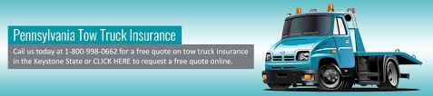 100 Tow Truck Insurance Pennsylvania