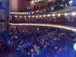 View from Orchestra Row H Seat 16 Picture of CIBC Theatre