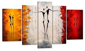 Home Art Abstract Lover Giclee Canvas Prints Modern In Wall For