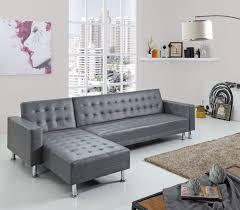 canapé angle lit gris canapés d angle salon salle à manger