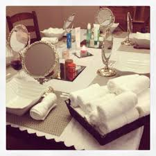 Facial Party Set Up With Arbonne A Pampering Night In Your Home Friends