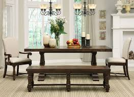 22 Amazing Pictures Of Bench Style Dining Table Set