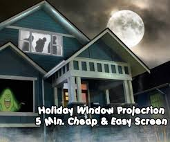 Halloween Ghost Hologram Projector by 5 Minute Cheap And Easy Rear Projection Screen 8 Steps With