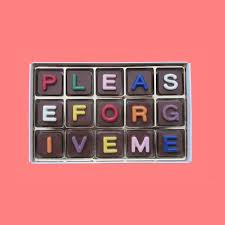 Please Forgive Me Gift Message Chocolate Gift Apology Gift Etsy