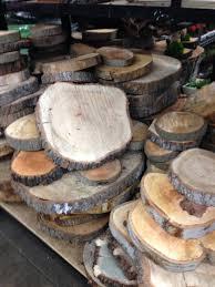diy tree slab side table in redbook emily henderson