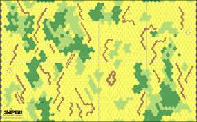 Screenshot Of Rural Mapsheet VASSAL Version