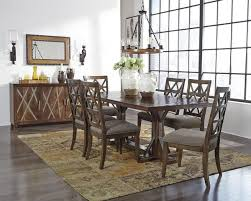 Devasheen Brown Dining Room Set 7 Piece For Sale In Houston TX