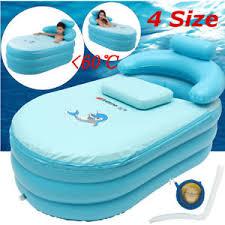 Portable Bathtub For Adults Uk by 4 Sizes U0026 Child Spa Pvc Folding Portable Bathtub Warm