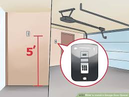 How to Install a Garage Door Opener with wikiHow