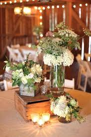 Rustic Table Decoration Wedding Stunning Centrepieces Decorations