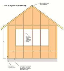 12x16 Wood Storage Shed Plans by 12 16 Storage Shed Plans U0026 Blueprints For Large Gable Shed With Dormer