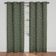 Burgundy Grommet Blackout Curtains by Grommet Sage Curtains U0026 Drapes Window Treatments The Home