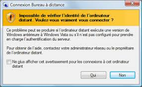 connexion bureau à distance windows xp bureau à distance ou remote desktop contrôle à distance