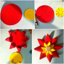 How To Make Flowers Out Of Construction Paper 3d Gallery Flower